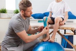 Podiatry knee pain in children