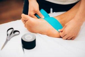 Podiatrist heel pain